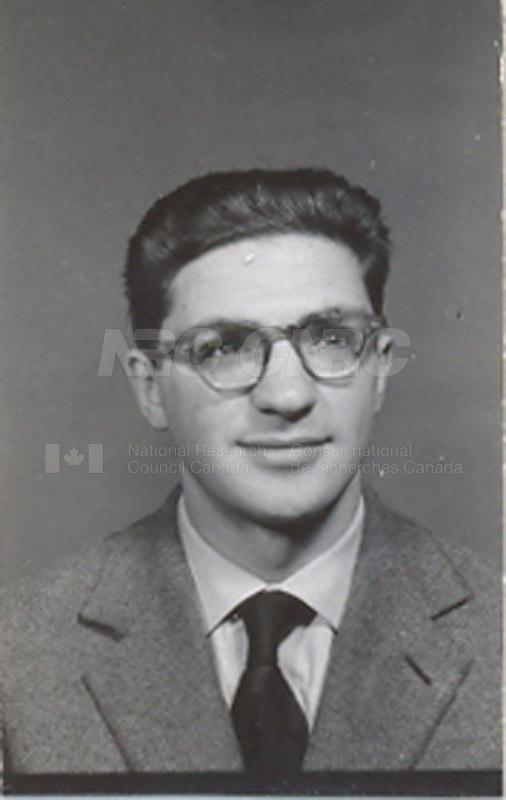 Photographs of Postdoctorate Issue 1957 048