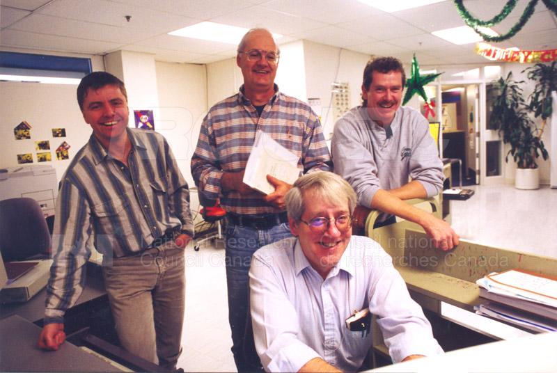 CISTI Employees (Stacks) Dec. Late 1990s 004