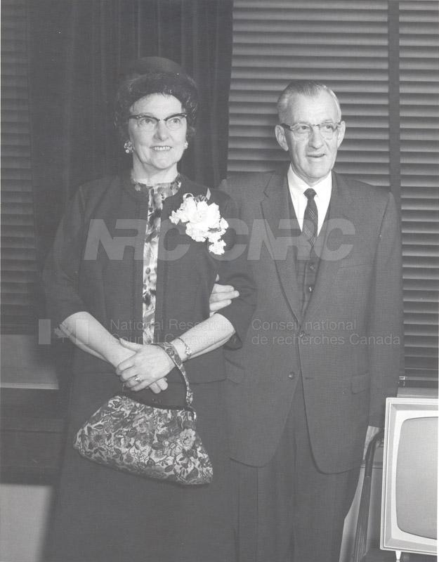 Retirement- Mr. Biggar (Head General Services) 1965 003