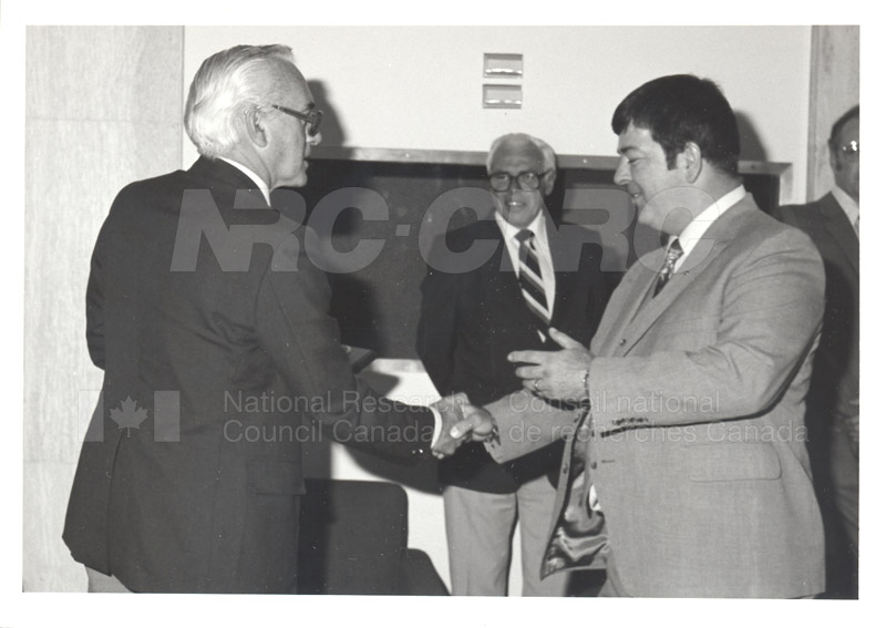 25 Year Service Plaques Presentations 1981 060