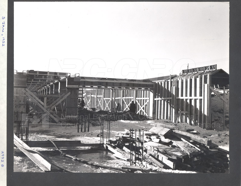 Construction of M-50 Jan. 3 1952 #2992 002