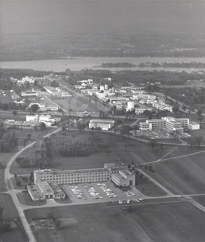Montreal Road Campus Aerial View 1960's 012