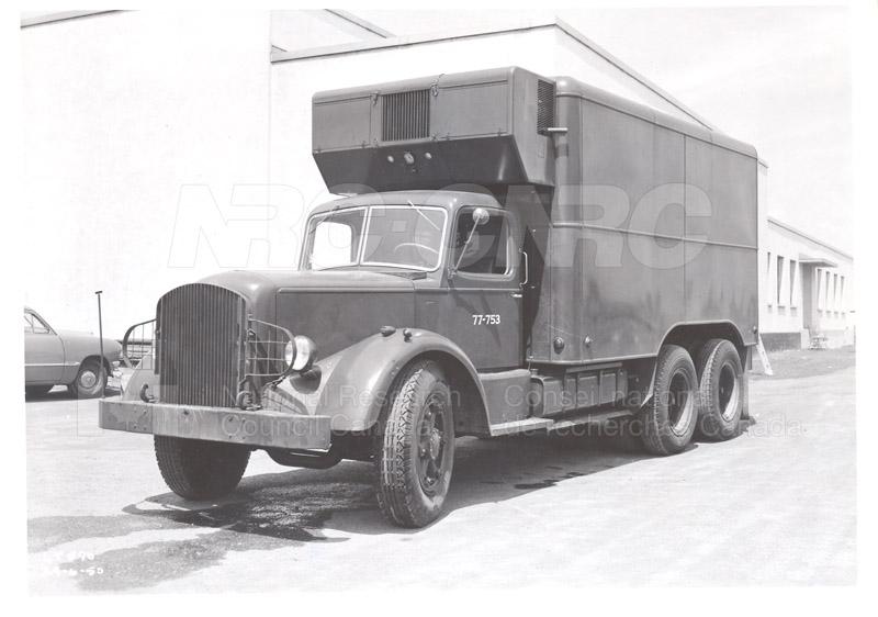 10 ton Mack 6 x 6 Refrigeration Truck