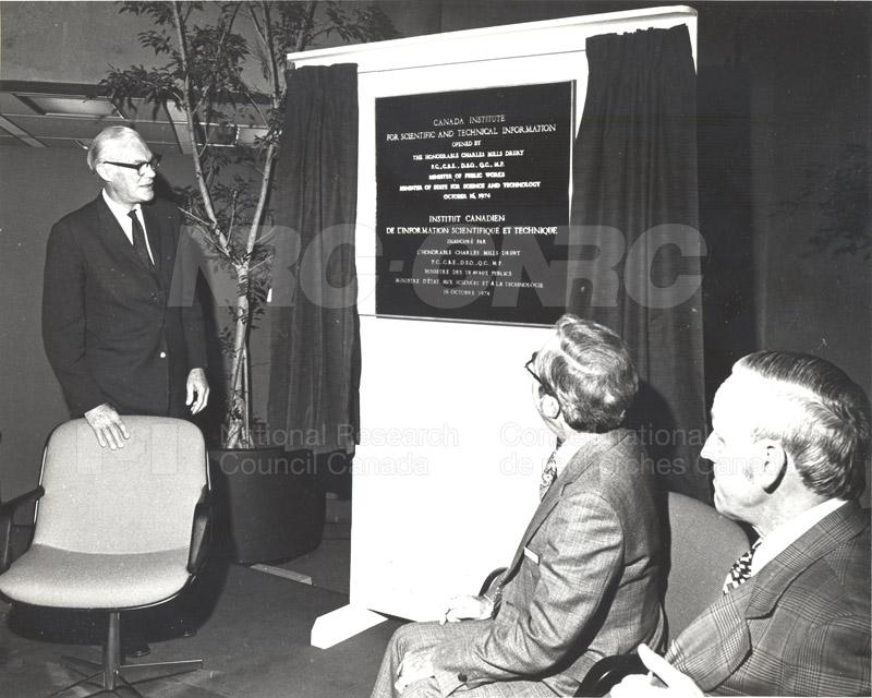 CISTI Opening Ceremony 1974