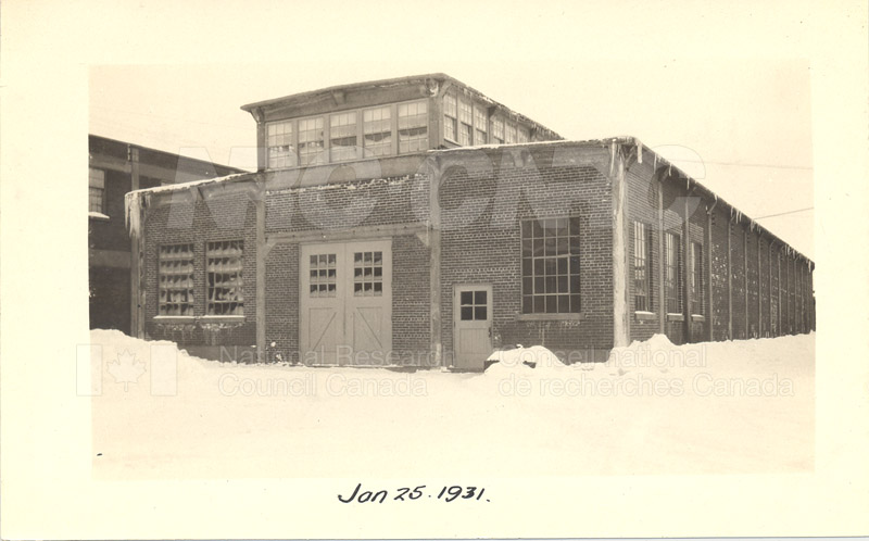 Sussex St. and John St. Labs- Album 3-Wind Tunnel Book 2 Jan. 25 1931 001