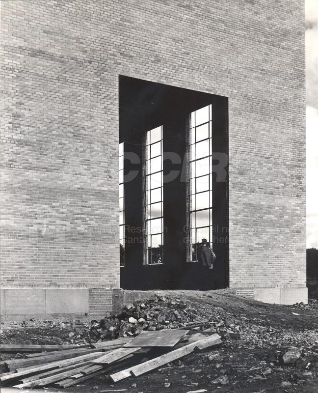 Construction of M-50 Sept. 17 1952 #3228 005