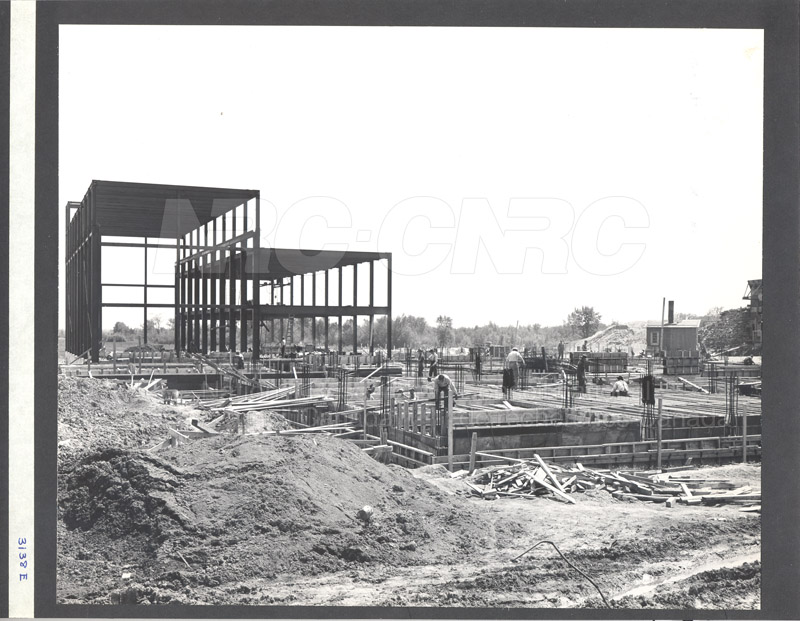Construction of M-50 Summer 1952 #3138 004