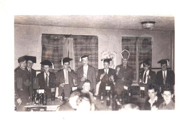 Group Portrait- Physics and E.Eng.- Radio Branch Celebration c.1945 002