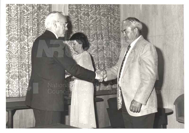 25 Year Service Plaques Presentations 1984 034