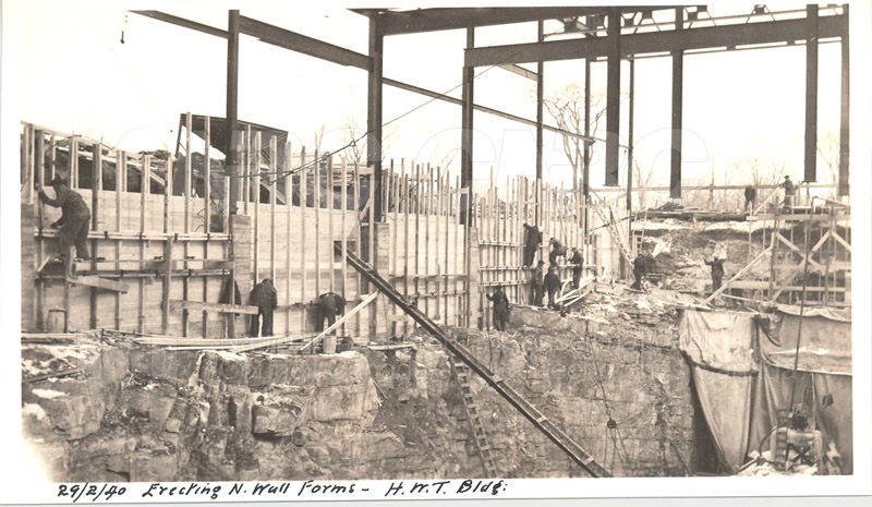 Administration and Wind Tunnels Construction 1940 001
