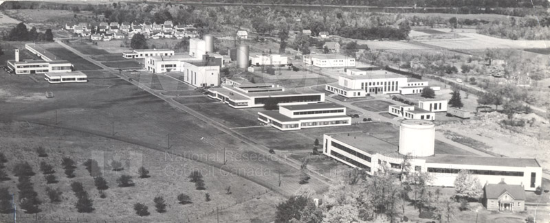 Montreal Road Labs Building No. 30- Aerial 1948