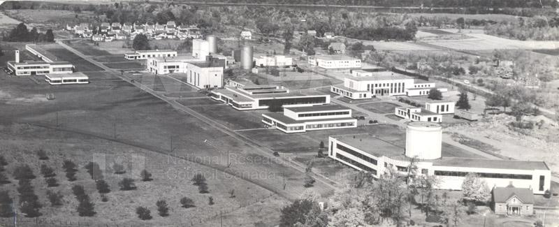 Montreal Road Labs Building No. 30- Aerial 1948