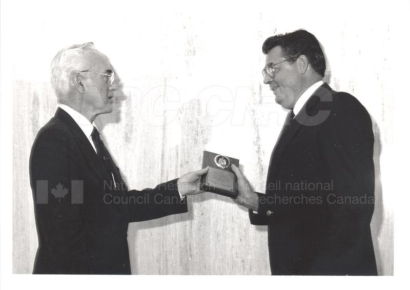 25 Year Service Presentation Sept. 12 1989 002