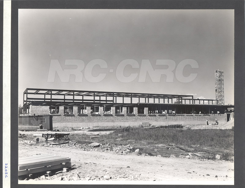 Construction of M-50 Summer 1952 #3205 003