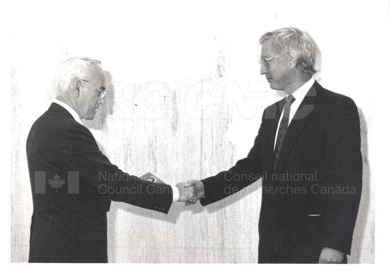 25 Year Service Presentation Sept. 12 1989 003