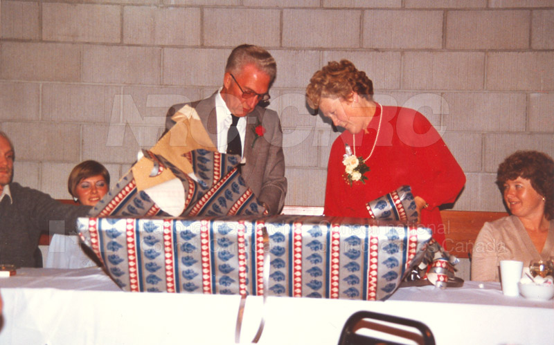 Retirement Parties V. Renaud, F. Greenwell, F. Simpson 1984 001