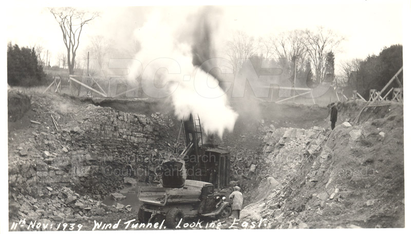 Administration and Wind Tunnels Construction 1940 014