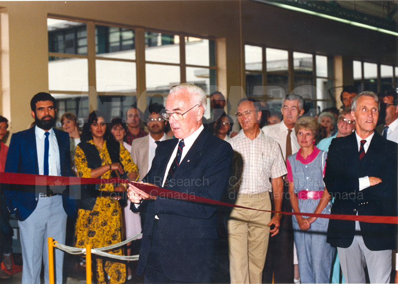 Opening of U-66 extention (NAE) 1988 003
