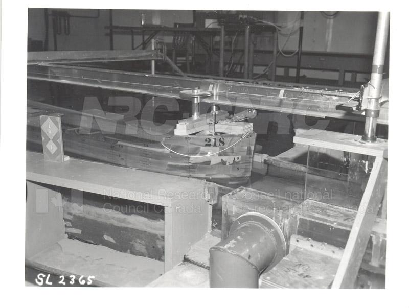 Lock Model Study 1986 005