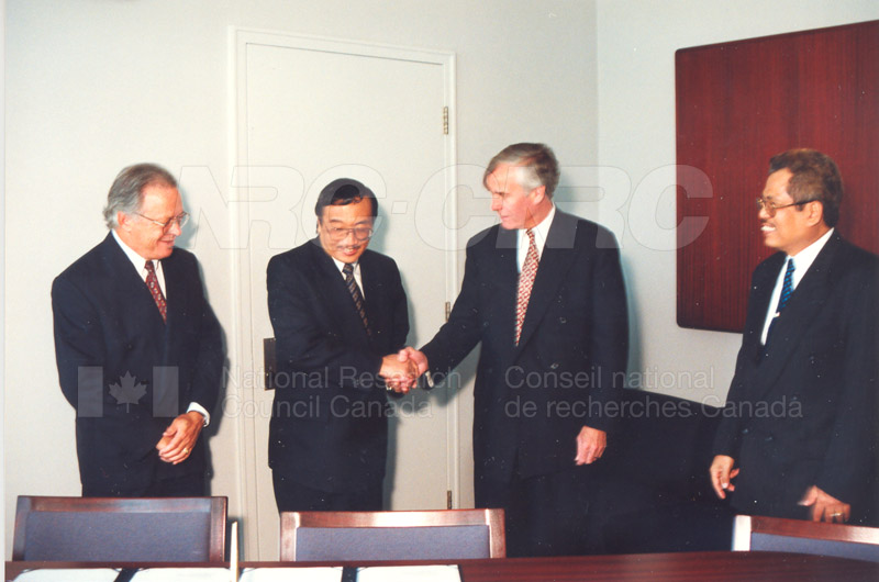 Agreement Signing Indonesian Institute of Sciences 10 Sept. 1997 011