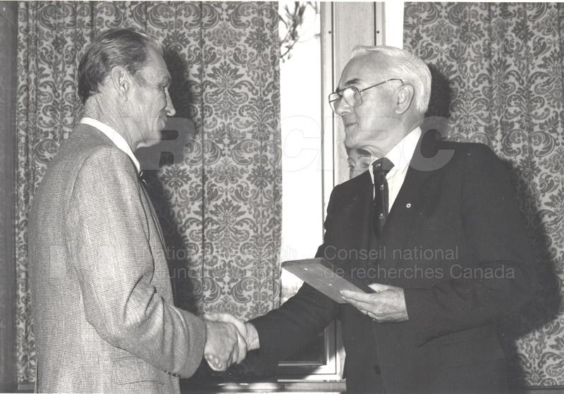 25 Year Service Presentations Nov. 1985 008