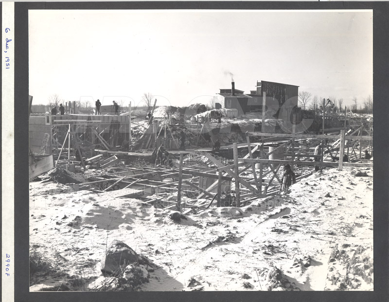 Construction of M-50 Dec. 6 1951 #2990 006