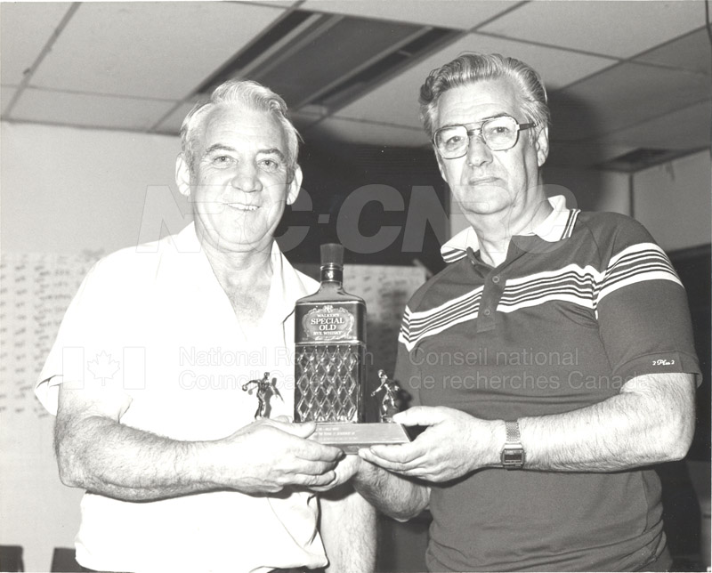 NRC Bowling Tournament 1983