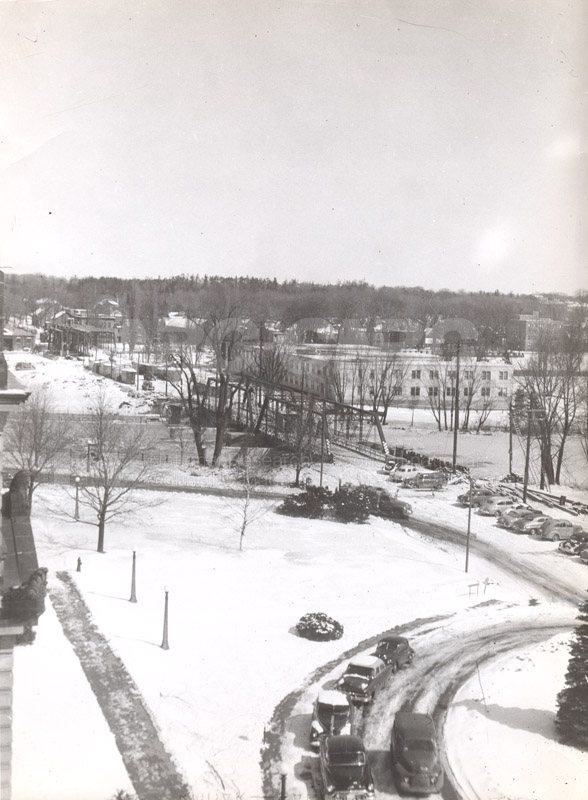 100 Sussex Drive- View from 4th Floor c.1950
