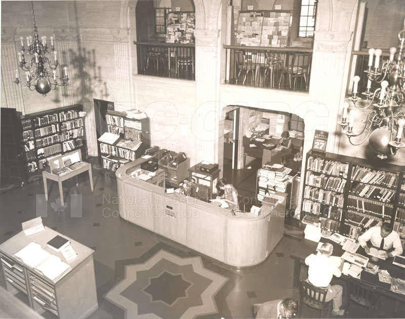 National Science Library- 100 Sussex Drive- Main Branch 1957 002