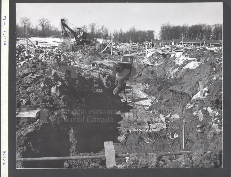 Construction of M-50 March 11 1952 #3057 001