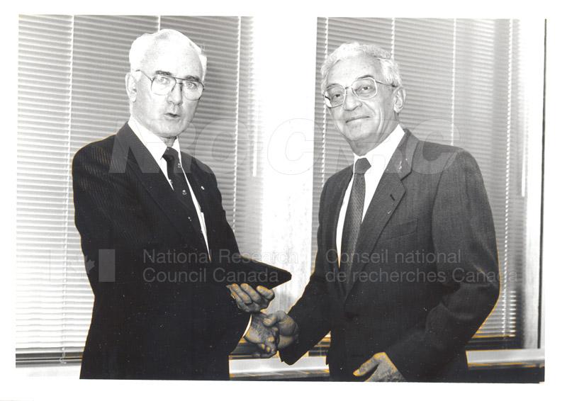 25 Year Service Presentation Sept. 12 1989 021