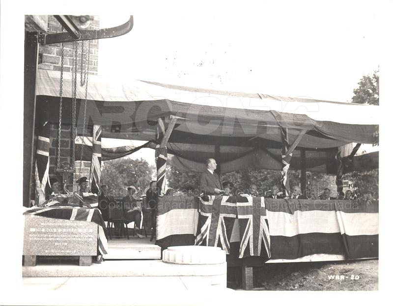 Aerodynamics Bldg -Annex- Laying the Cornerstone- July 25, 1940 005