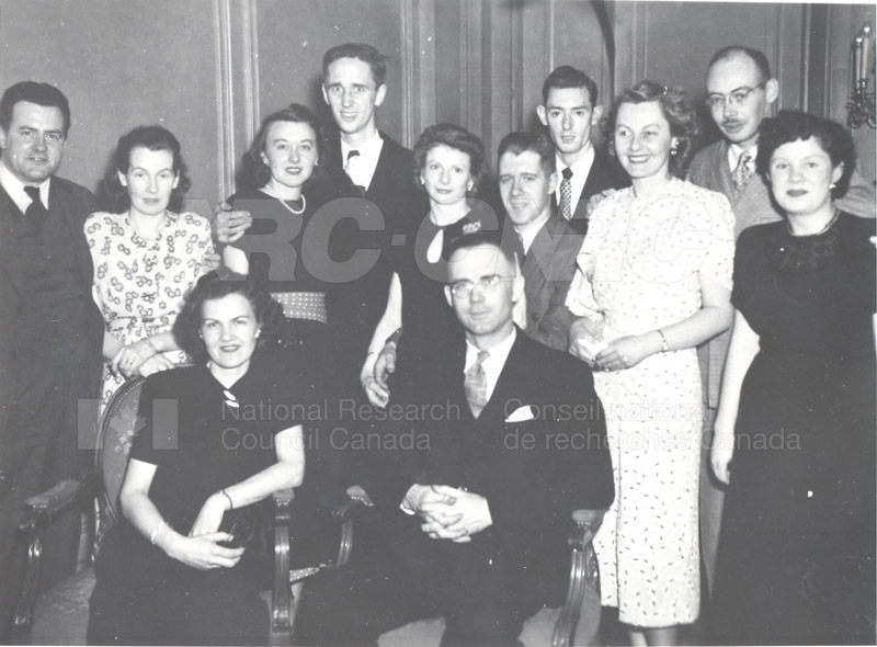 Electrical Engineering Christmas Party c.1948