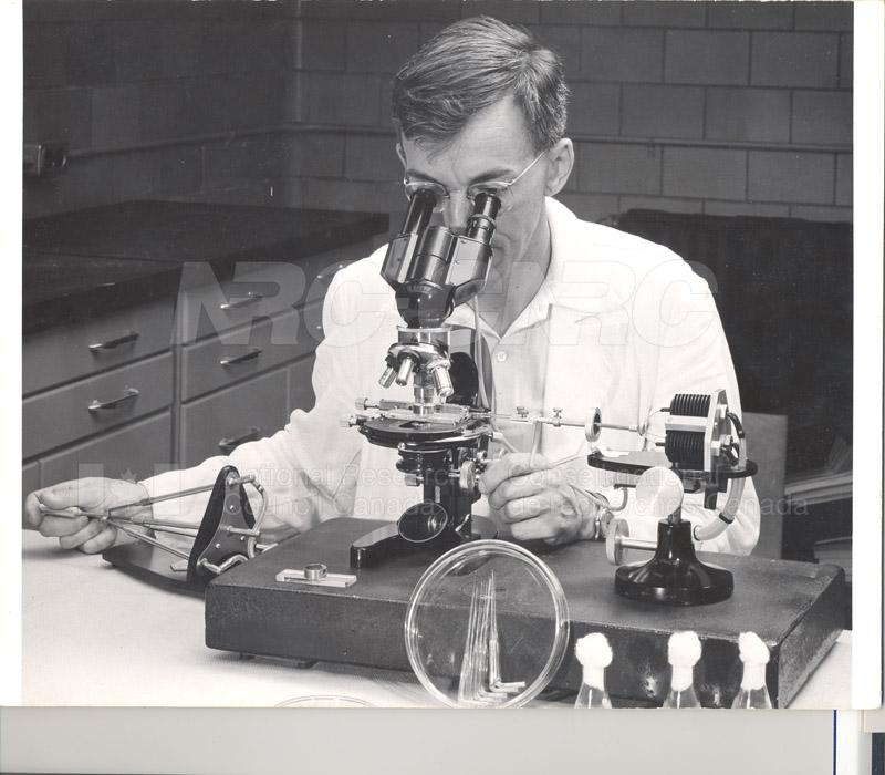 Micro-Manipulator Dr. Gorman July 1958