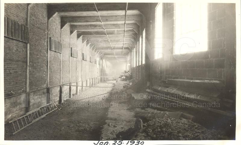 Sussex St. and John St. Labs- Album 4- Test Basin Jan. 25 1930
